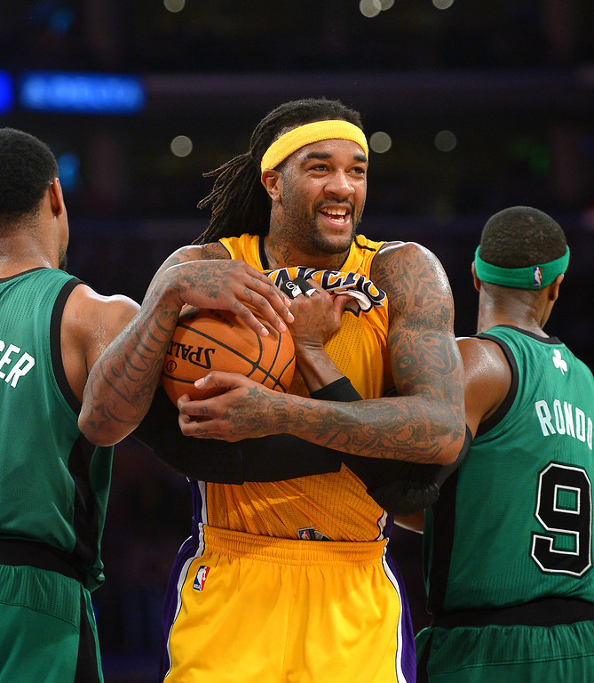 . <b>Jordan Hill</b>, power forward, averaged 9.5 points and 7.3 rebounds in 20.7 minutes through 70 games.  <br /><br /> <b> Outlook</b>: The Lakers like Hill, bur he will leave if D�Antoni is retained. Hill prefers to play in a system that puts a higher premium on big men.   (Photo by Michael Owen Baker/L.A. Daily News)