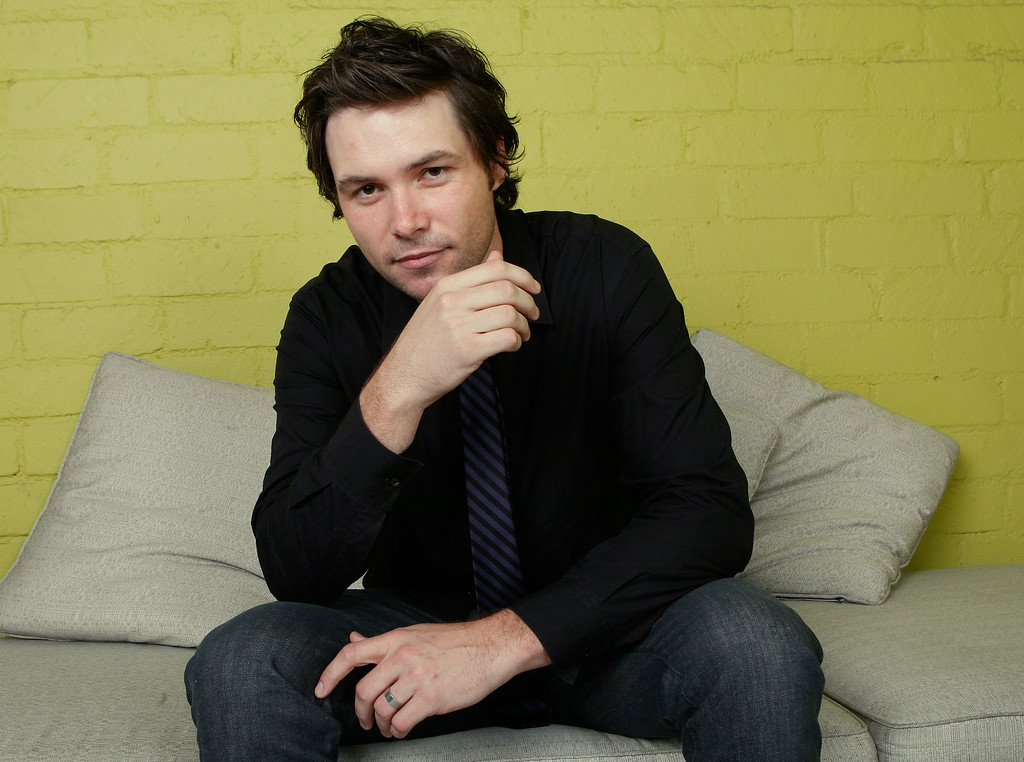 ". American Idol contestant Michael Johns poses for a portrait during the Australians In Film 2008 ""Breakthrough Awards\"" held at the Avalon Hotel on June 5, 2008 in Los Angeles, California.  (Photo by Michael Buckner/Getty Images)"