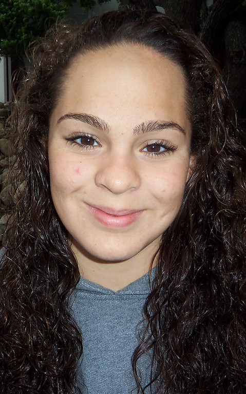 . Samantha Duran has been named to the Inland Valley Daily Bulletin\'s All-Area Swim Team. Duran is a freshman at Claremont High School. Courtesy photo to the Inland Valley Daily Bulletin.