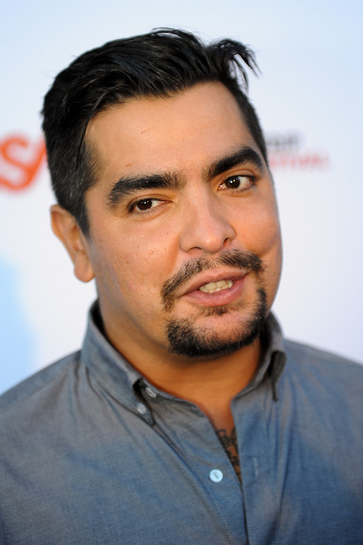. Chef Aaron Sanchez on the red carpet before the Joan Jett and the Blackhearts concert at the House of Blues as part of the Sunset Strip Music Festival, Thursday, August 1, 2013. (Michael Owen Baker/L.A. Daily News)