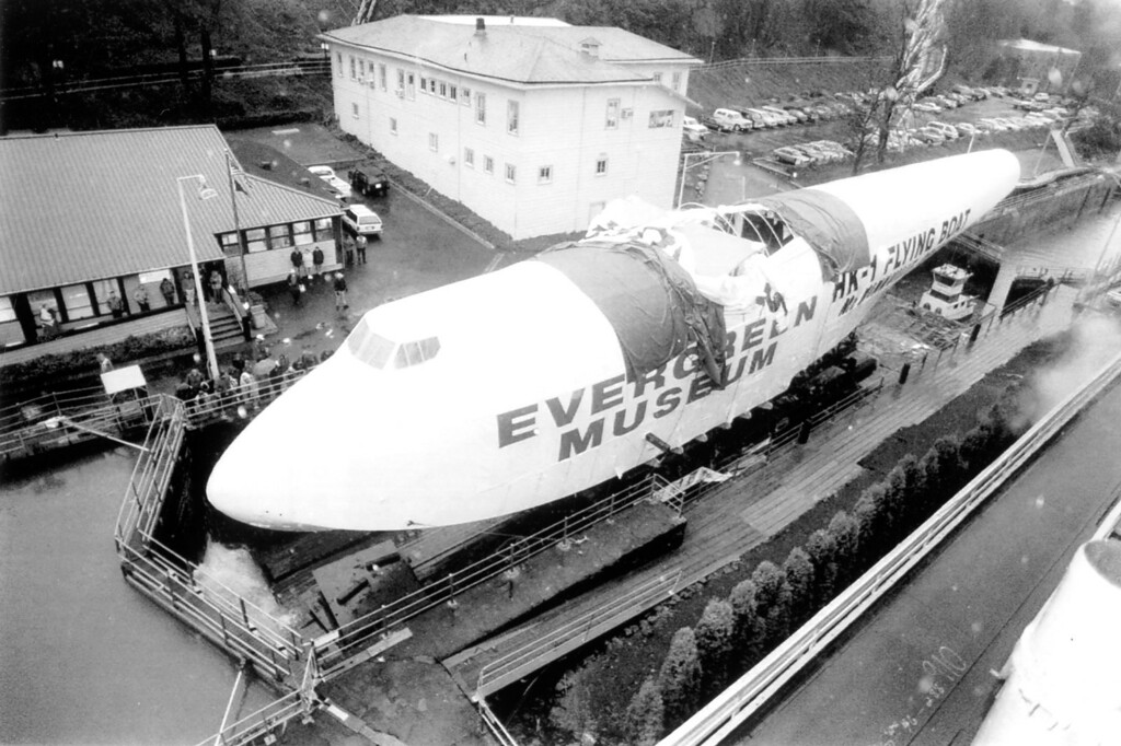 . Spruce Goose.   Los Angeles Daily News file photo
