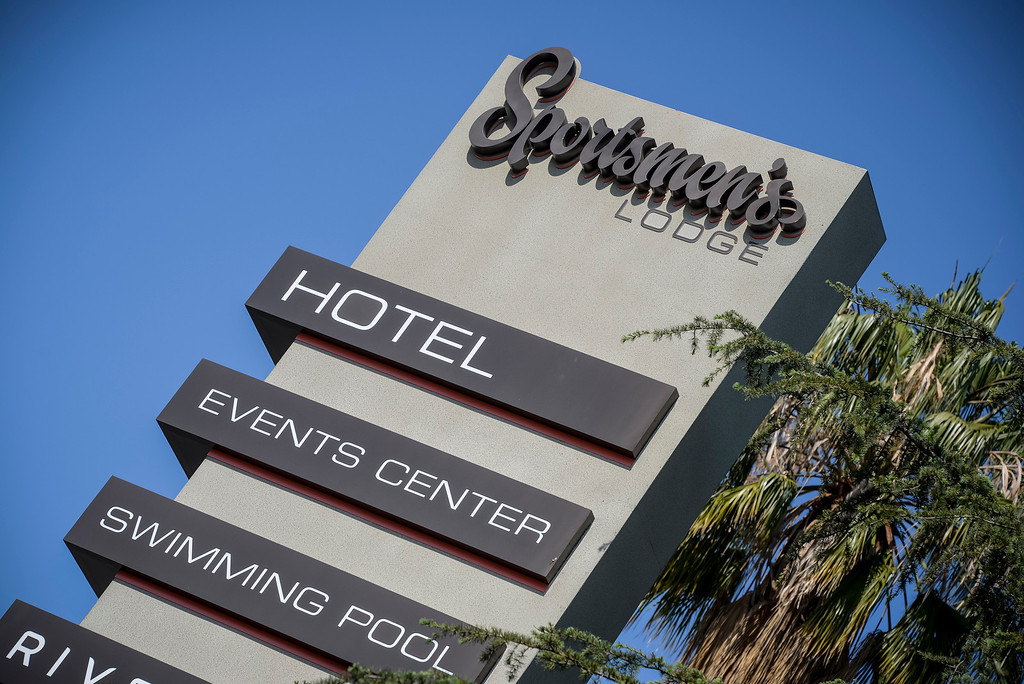. The Sportsmen\'s Lodge Hotel in Studio City will re-open totally renovated.  The 52-year-old hotel and cafe will officially reopen May 3rd after an $8-million renovation.    (Photo by David Crane/Los Angeles Daily News)