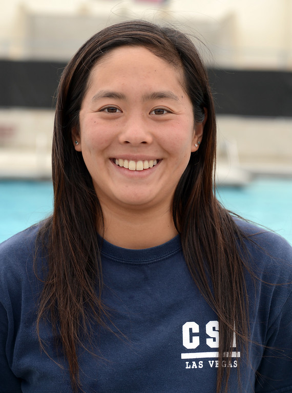 . Ashley Tse has been named to the Inland Valley Daily Bulletin\'s All-Area Swim Team. Tse is a senior at Ayala High School. Thomas Cordova staff photographer Inland Valley Daily Bulletin.
