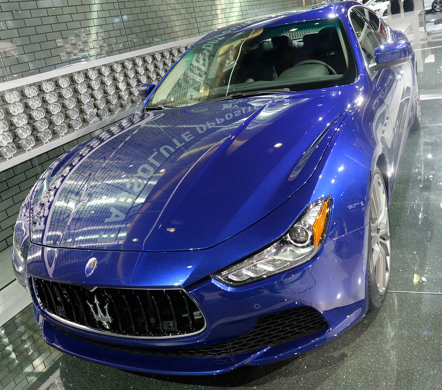 . Nov 22,2013 Los Angeles CA. The 2014 Maserati Grand Turismo MC, on displays during the 2nd media day at the Los Angeles Auto Show. Photo by Gene Blevins/LA Daily News