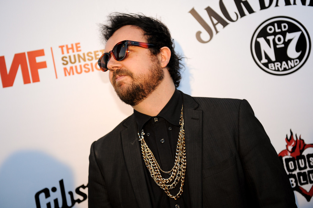 . Andy Clockwise on the red carpet at the House of Blues as part of the Sunset Strip Music Festival, Thursday, August 1, 2013. (Michael Owen Baker/L.A. Daily News)