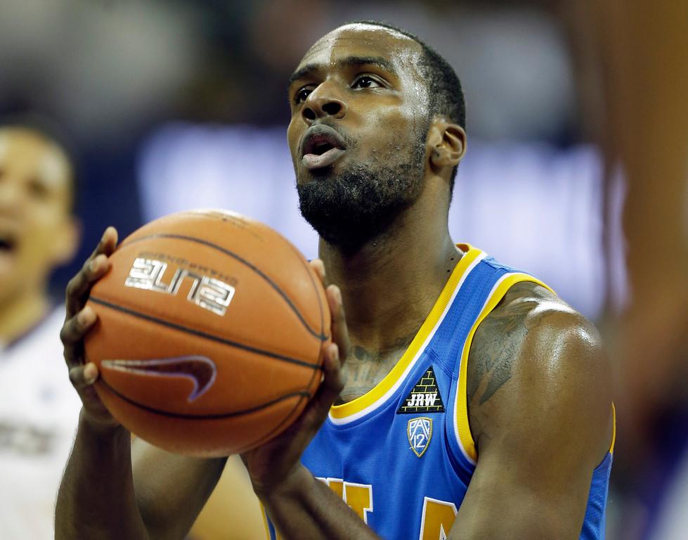 . <b>14. Utah - Shabazz Muchammad </b> <br />6-6, 222 Small forward, UCLA (traded to Minnesota) (AP Photo/Ted S. Warren)