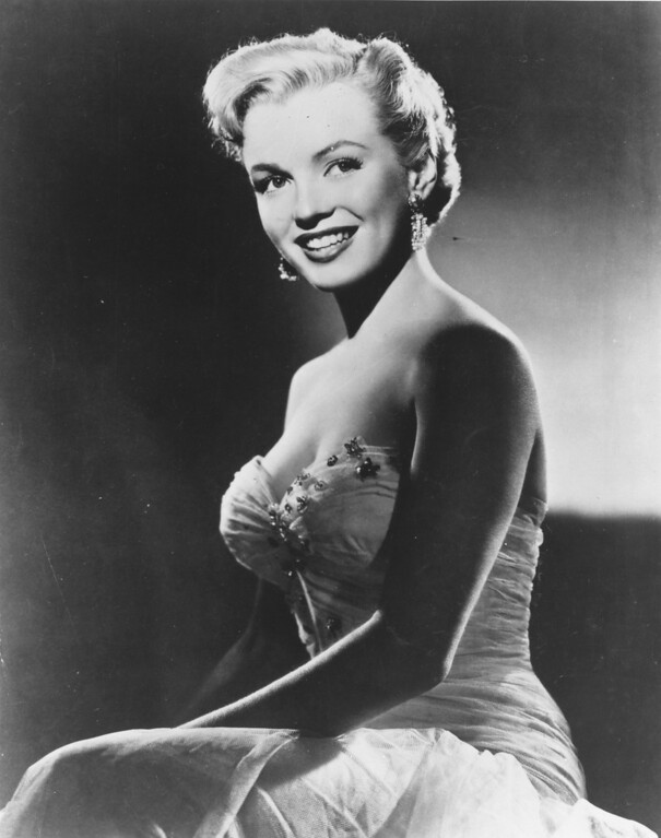 . October 1951:  American film actress Marilyn Monroe (1926 - 1962).  (Photo by Keystone/Getty Images)
